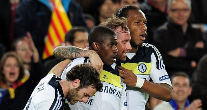 Ramires: The goal against Barcelona was one of the highlights of his Chelsea career