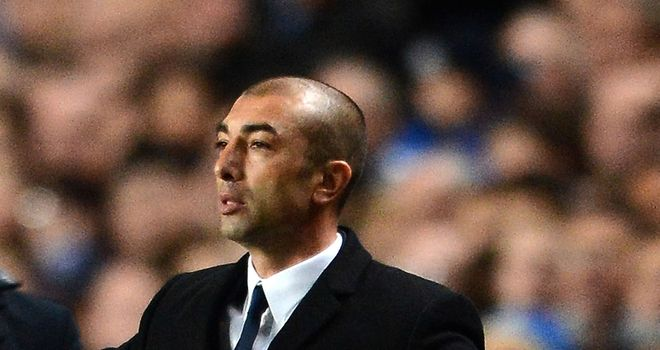 Roberto Di Matteo: Chelsea manager is confident of finishing fourth in the Premier League