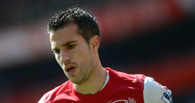 Robin van Persie: Arsenal captain will hold talks regarding his future next week