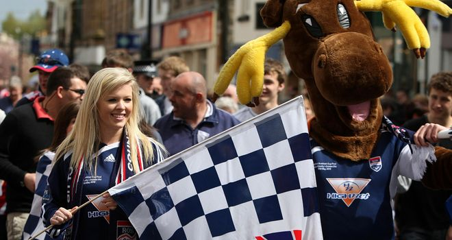 Ross County: Promoted to the SPL