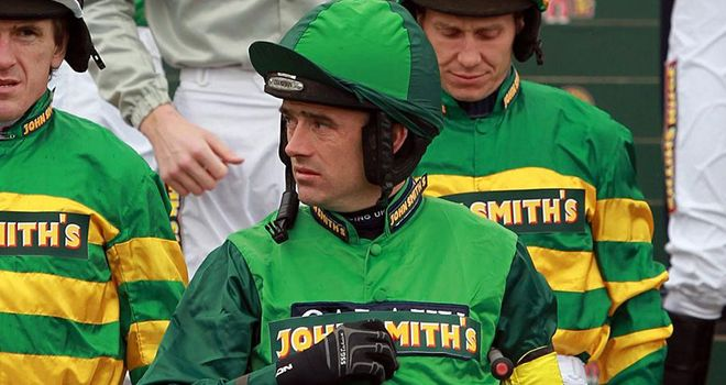 Ruby Walsh: Partnered faller Remember Rose