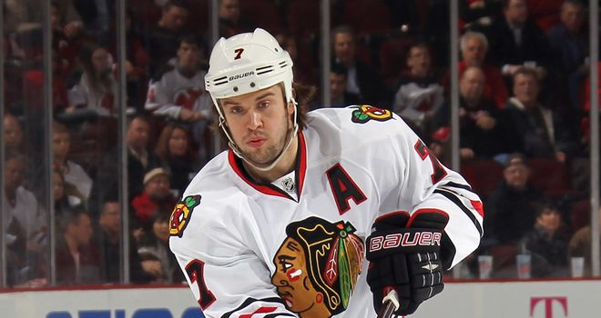 Brent Seabrook: Scored one of the Blackhawks' three goals