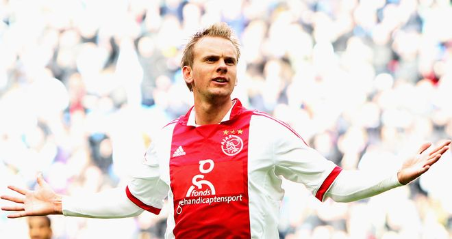 Siem de Jong: On target for Ajax against Feyenoord
