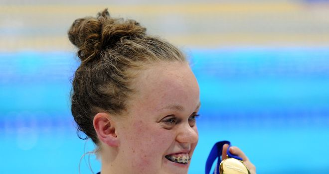 Ellie Simmonds: The 17-year-old has the chance to shine at home Games in 2012.