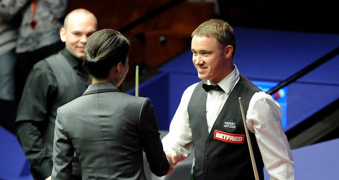 Stephen Hendry: Maximum 147 on first day