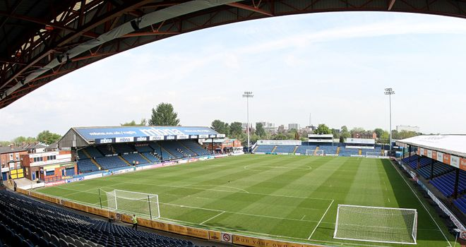 Edgeley Park: Home to Stockport County