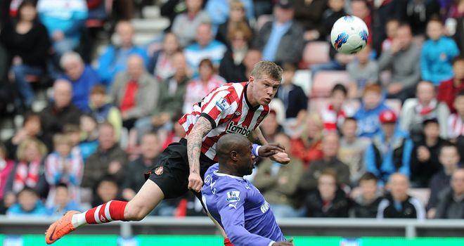 James McClean: Sunderland winger has been tipped to keep improving by manager Martin O'Neill