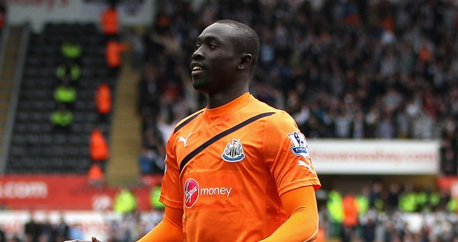 Papiss Cisse: Newcastle's number nine bags a double against Swansea