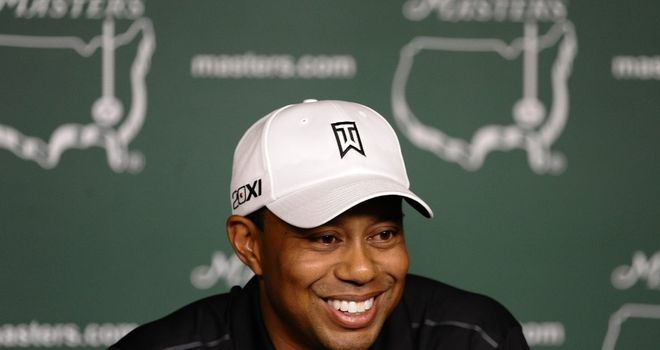 Tiger Woods: is many pundits' tip for another major at the Masters