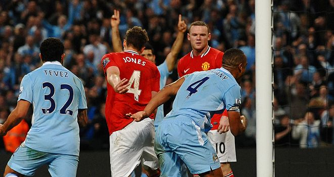 In the Monday Night Football derby between Man City and Man Utd, it was a single goal that decided who would have the advantage in the 2011/12 title race.