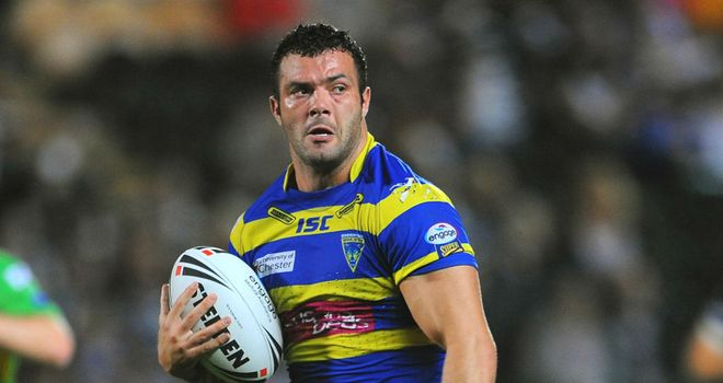 Chris Bridge: Warrington centre set to feature against St Helens