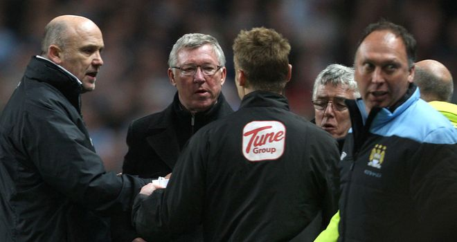 Sir Alex Ferguson: Admitted Manchester City had more threat at the Etihad Stadium