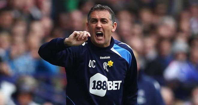 Owen Coyle: Wants his Bolton side to show some fight at Stoke