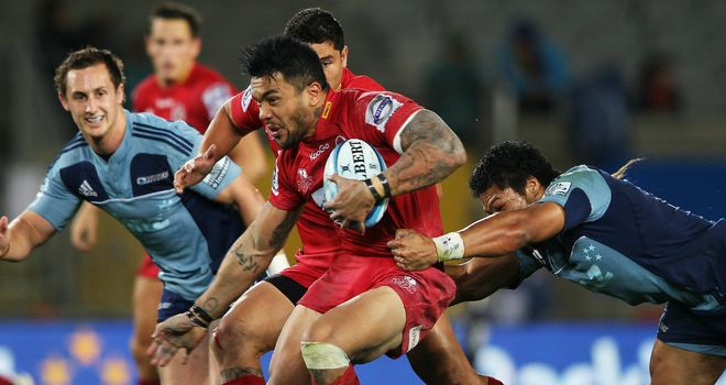 Digby Ioane: early try set Queensland on way to victory
