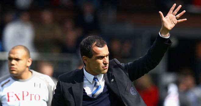 Roberto Martinez: Full of praise for players