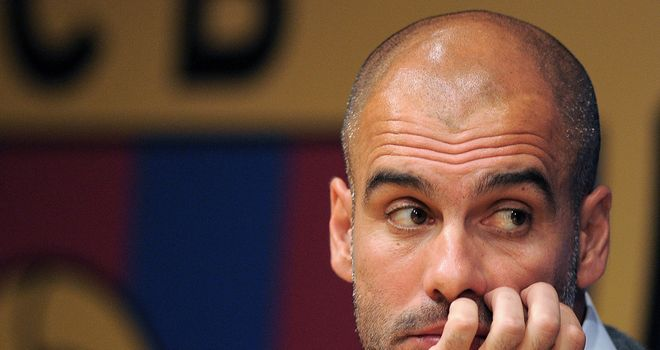 Pep Guardiola: AC Milan insist they have made no approach for his services