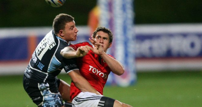 Ian Keatley: kicked crucial points for Munster