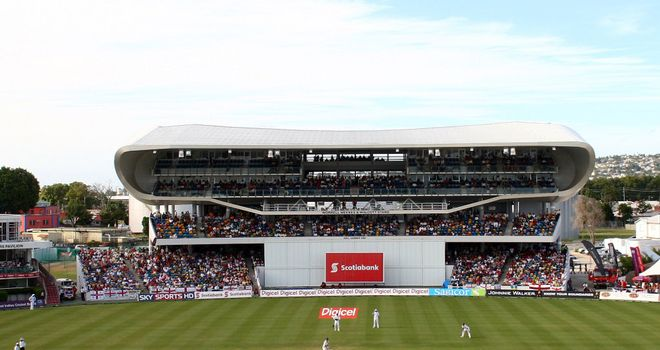Kensington Oval, Barbados: Venue for T20 Tri-series matches