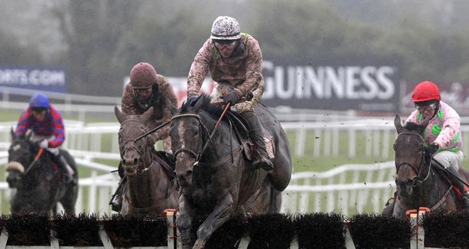Marasonnien: Headed a clean sweep for Willie Mullins