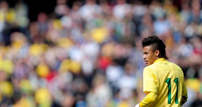 Neymar: Brazil star on target in victory over USA in Washington