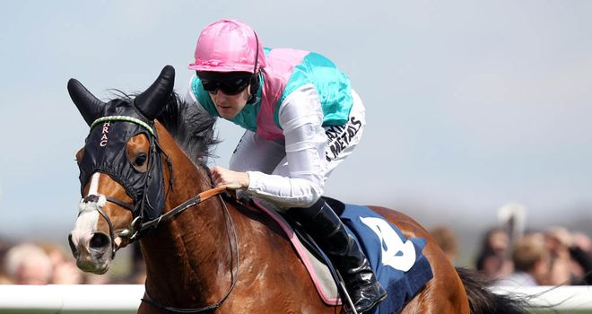 Noble Mission: Impressive Newbury winner but trainer in no rush to nominate big targets