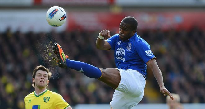 Sylvain Distin: Insists Everton are worthy of their place