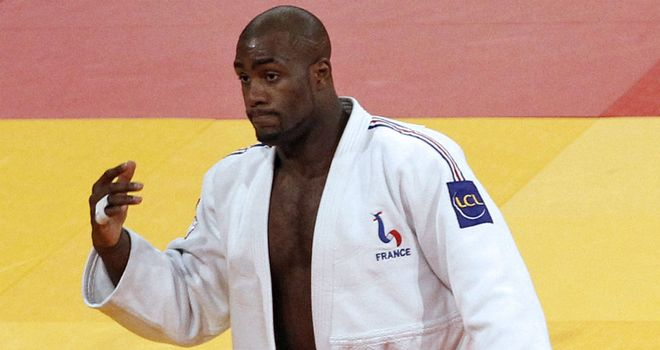 Teddy Riner: The French judo star is chasing gold after his bronze medal in Beijing.