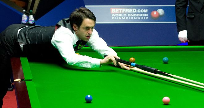 Ronnie O'Sullivan: Up and running at the Crucible