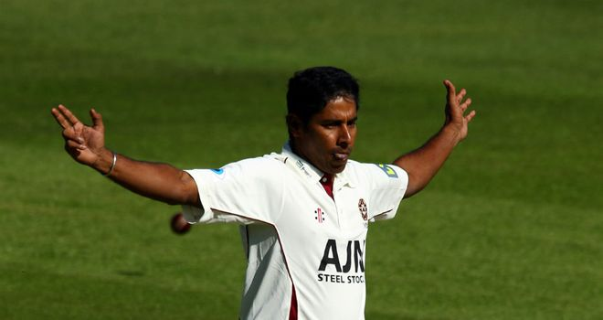 Chaminda Vaas: Played just six Division Two matches for Northants in 2012