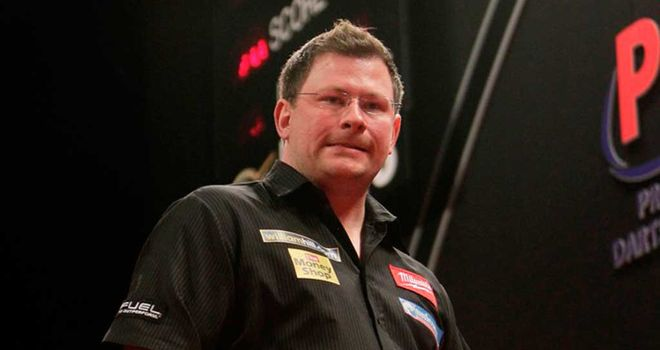 James Wade: Enlgish left-hander suffered first-round defeat against Brendan Dolan