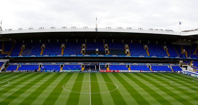White Hart Lane: Tottenham have announced a loss of £4.3m