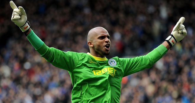 Ali Al Habsi: Considered to be among the best in the business by Roberto Martinez