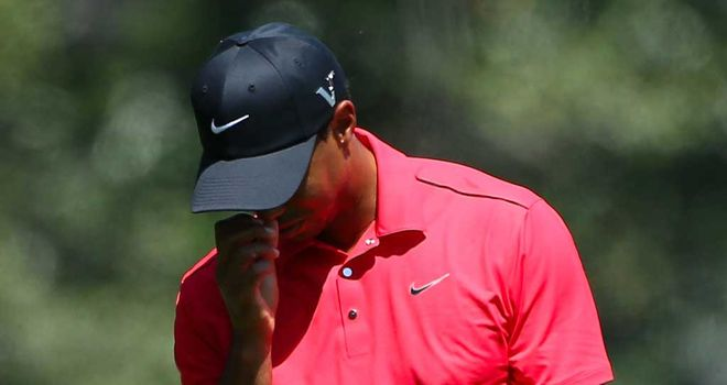 Tiger Woods: never got into contention this week