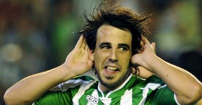 Benat: Scored the only goal as Real Betis shocked Real Madrid