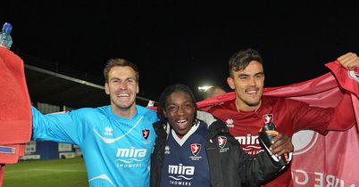 Brown, McGlashan and Pack: Robins heroes