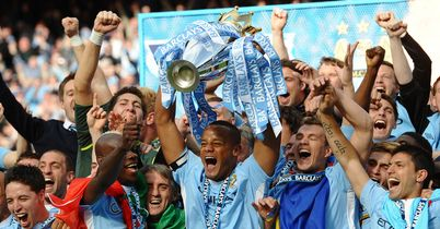 Manchester City: Celebrate 2012 Premier League title
