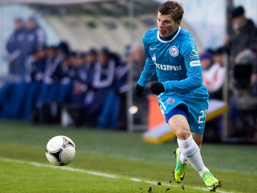 Arshavin: New lease of life since returning to Zenit
