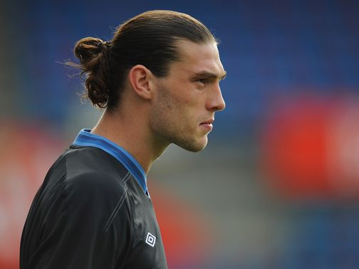 Andy Carroll: Set to start against Sweden in Kiev