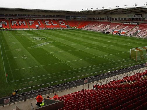 Bloomfield Road: Hosts England v Northern Ireland