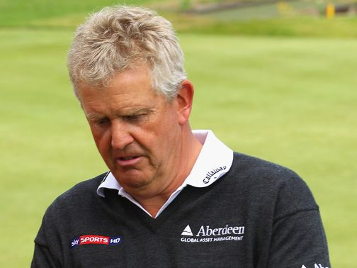Montgomerie: Misses out on Open place
