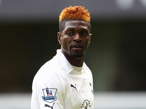 Emmanuel Adebayor: Completes protracted Spurs move
