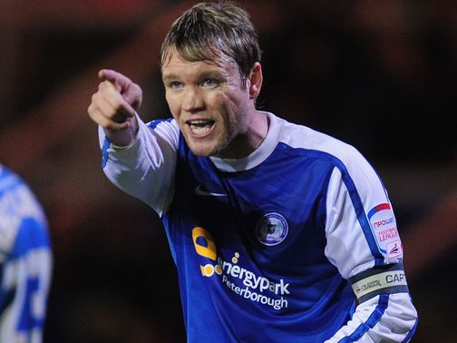 Grant McCann: Rescued a point for Posh