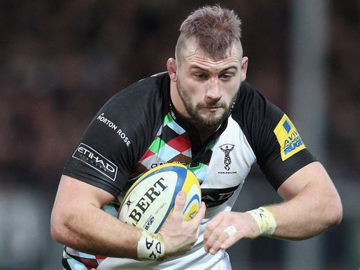 Joe Marler: Returns to start in the front row for Harlequins