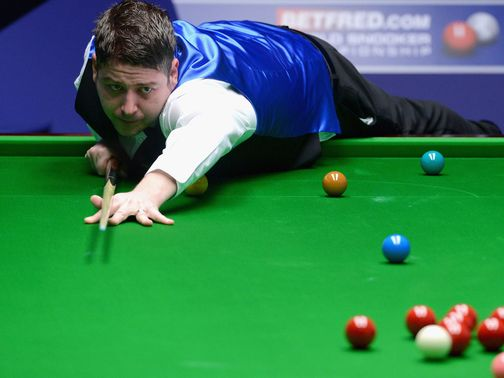 Matthew Stevens: Using his third cue of the tournament