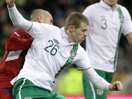 James McClean: Has had a cold