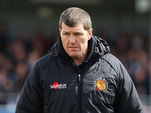 Rob Baxter: Exeter had their moments