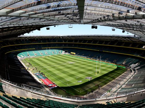 Twickenham: In the middle of a 76m upgrade