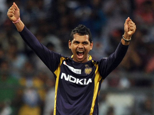 Sunil Narine: Took four for 15