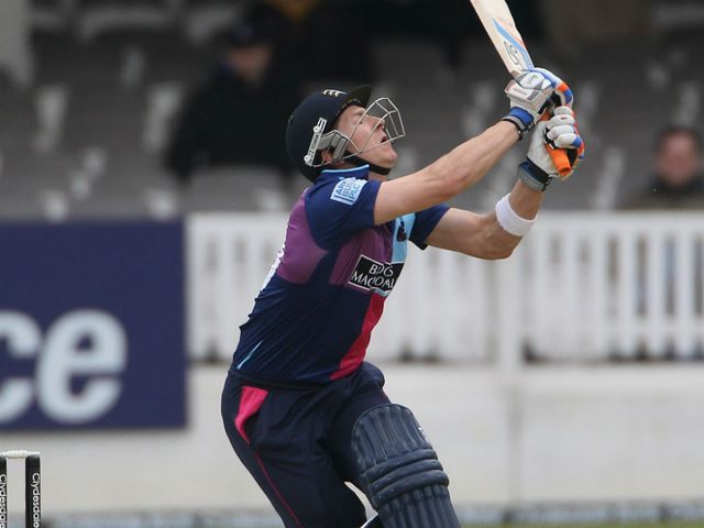Joe Denly: Finished on 96 not out