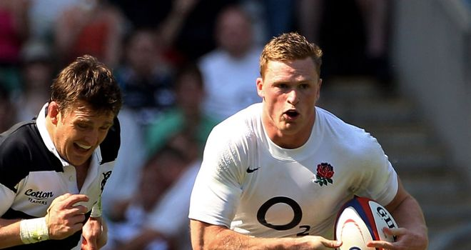 Chris Ashton: Saving 'dive' celebration for the right place, right time